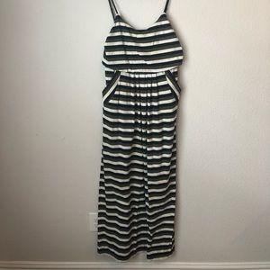Striped Anthro Maxi Dress